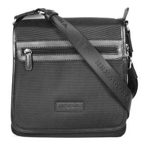 Pánská taška přes rameno Hexagona D72248 – černá 1154