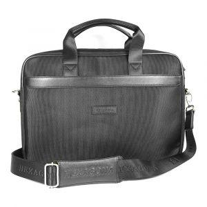 Pánská taška přes rameno Hexagona D72495 – černá 1149