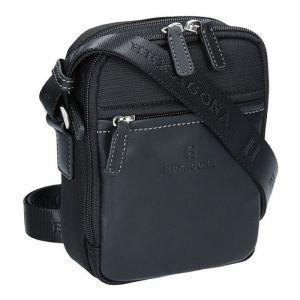 Pánská taška na doklady Hexagona 291329 – černá 1148