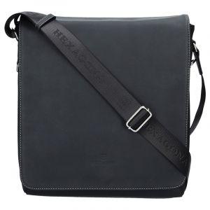 Pánská taška přes rameno Hexagona 299163 – černá 1142