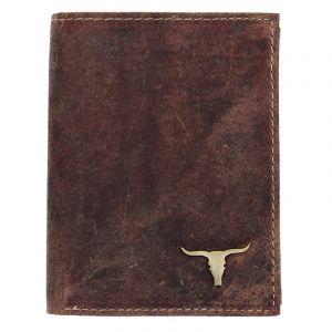 Pánská kožená peněženka Wild Buffalo Tomas – koňak 18344