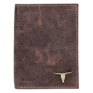 Pánská kožená peněženka Wild Buffalo Tomas – hnědá 18343