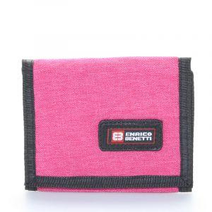 Peněženka látková růžová – Enrico Benetti 4500 růžová 56189