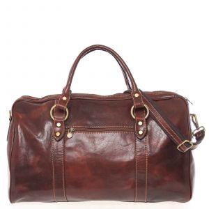 Velká cestovní kožená taška hnědá – ItalY Equado hnědá 138915