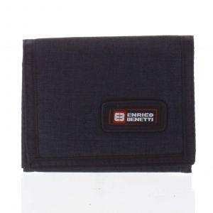 Peněženka látková černá – Enrico Benetti 4600 černá 164580