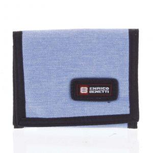 Peněženka látková světle modrá – Enrico Benetti 4600 modrá 164623