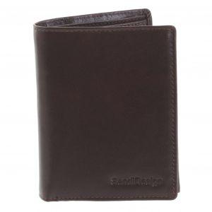 Pánská kožená peněženka tmavě hnědá – SendiDesign Benny hnědá 194746