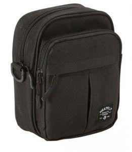 Meatfly Pánská crossbody taška Hardy Small Bag A-Black mmf0473