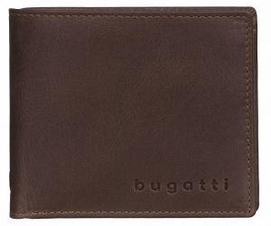 Bugatti Pánská peněženka Volo 49218202 Brown mbg0162