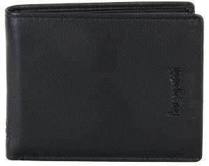 Bugatti Pánská peněženka Volo 49318301 Black mbg0164