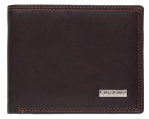 Lagen Pánská kožená peněženka LG-1789 Brown mla0615