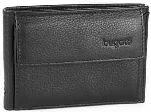 Bugatti Pánská kožená peněženka Sempre 49118001 Black mbg0172