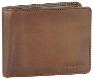 Bugatti Pánská kožená peněženka Domus RFID 49322907 Cognac mbg0174