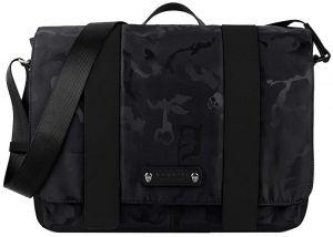 Bugatti Pánská taška na notebook Camo 49380701 Black mbg0178