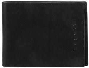 Bugatti Pánská kožená peněženka Romano 49399401 Black mbg0183