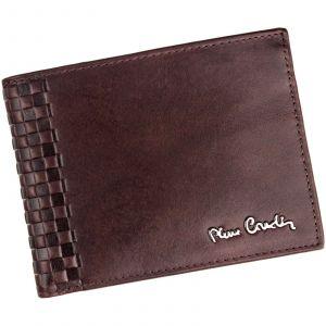 Pánská kožená peněženka Pierre Cardin Oddfrid – hnědá 17708