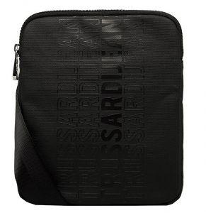 Trussardi Pánská crossbody taška Logo Stripe Reporter Sm Coated Canvas mtr0052