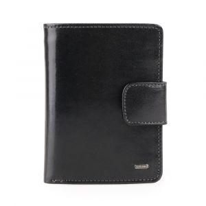 Uniko Kožená peněženka Unisex Label 213906 – černá p5812