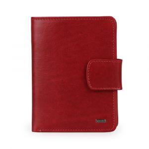 Uniko Kožená peněženka Unisex Label 213906 – červená p48973