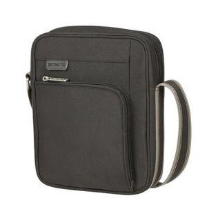 """Samsonite Pánská taška přes rameno Hip-Sport Crossover M 9,7"""" – černá p51605"""