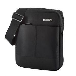 """Samsonite Pánská taška přes rameno Hip-Tech 2 Tablet Crossover M 9,7"""" – černá p51615"""