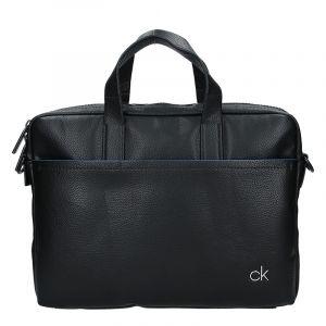 Pánská taška přes rameno Calvin Klein Mono – černá 17437