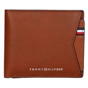 Pánská kožená peněženka Tommy Hilfiger Voitto – hnědá 17420