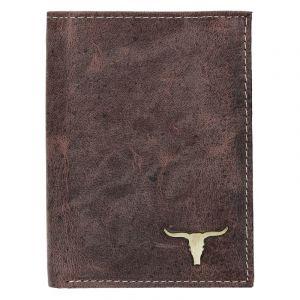 Pánská kožená peněženka Wild Buffalo Tom – hnědá 17376