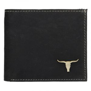 Pánská kožená peněženka Wild Buffalo Martin – černá 17374