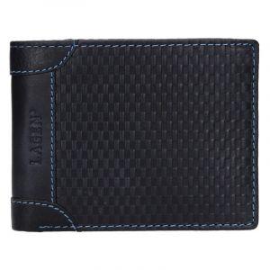Pánská kožená peněženka Lagen Arthur – modrá 14162
