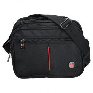 Pánská taška přes rameno Enrico Benetti Boston – černá 12238