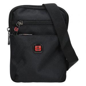 Pánská taška na doklady Enrico Benetti Heikki – černá 15942