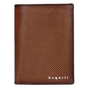Pánská kožená peněženka Bugatti Jimmy – hnědá 17620