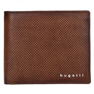 Pánská kožená peněženka Bugatti Unbert – hnědá 17619