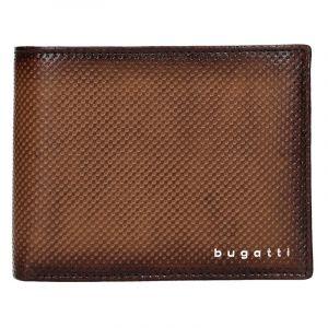 Pánská kožená peněženka Bugatti Quiddo – hnědá 17618
