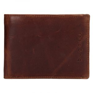 Pánská kožená peněženka Bugatti Oliver – hnědá 16452