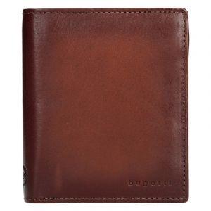 Pánská kožená peněženka Bugatti Robin – koňak 13126