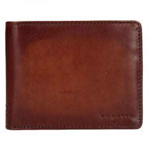 Pánská kožená peněženka Bugatti RFID1 – koňak 12292