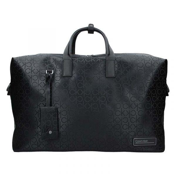 Pánská cestovní taška Calvin Klein Roben – černá 17211