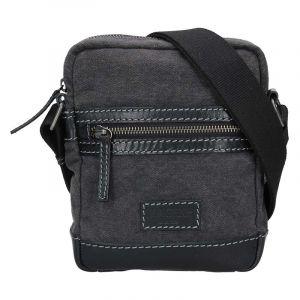 Pánská taška přes rameno Lagen Ignac – černá 17140
