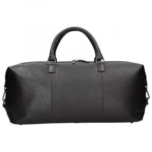 Pánská kožená cestovní taška Bugatti Dios – hnědá 16524