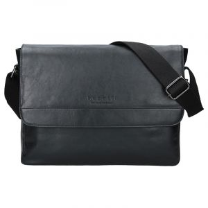 Pánská taška přes rameno Bugatti Artur – černá 16447