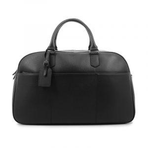 Elegantní kožená cestovní taška Hexagona Pierre – černá 16245