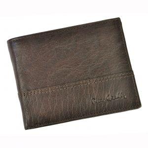 Pánská kožená peněženka Pierre Cardin Francois – hnědá 16185