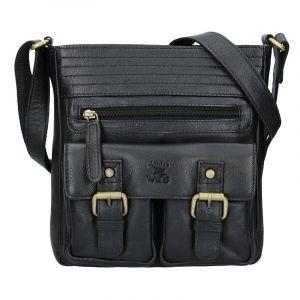 Pánská taška přes rameno Always Wild Victor – černá 16171