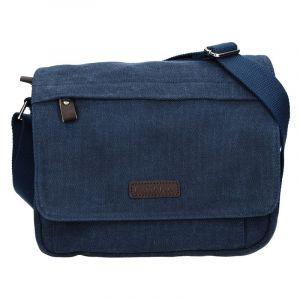 Unisex taška přes rameno Katana Madrid – modrá 15936