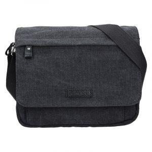 Unisex taška přes rameno Katana Madrid – černá 15934