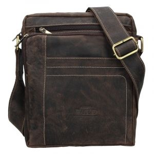 Pánská taška přes rameno Always Wild Frencis – tmavě hnědá 15915