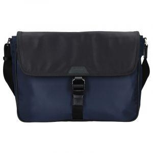 Pánská taška přes rameno Hexagona Quido – modro-černá 15907
