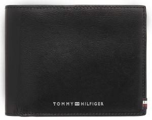 Tommy Hilfiger Pánská kožená peněženka Polished Leather Cc Flap & Coin AM0AM06301BDS mth1447